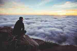 Clouds Meditating